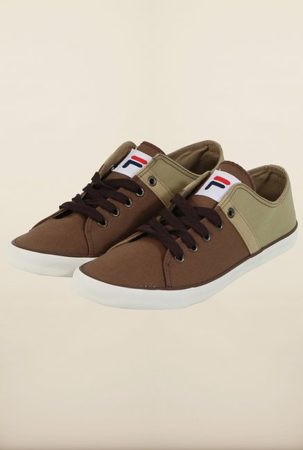 Fila Ristoro Brown & Beige Sneakers for Men