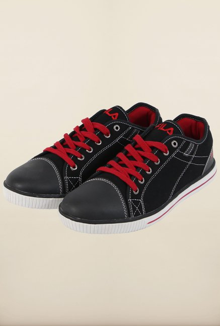 Fila Callisto Black & Red Sneakers for Men