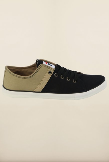 Fila Ristoro Black & Beige Sneakers for Men
