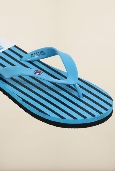 Fila Barone Blue & Black Flip Flops