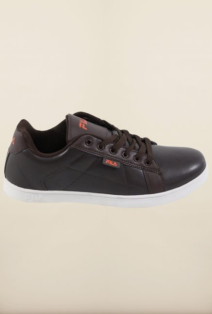 Fila Celso Brown & Orange Sneakers for Men