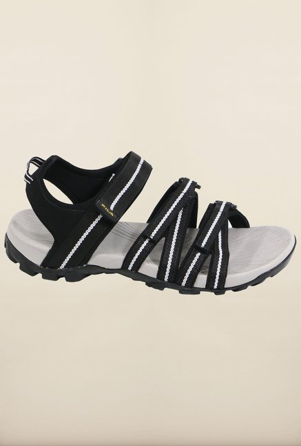 Fila Gabor II Black & White Floater Sandals