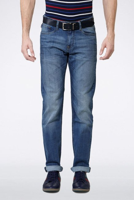Allen Solly Blue Slim Fit Jeans