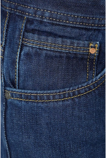 Allen Solly Dark Blue Slim Fit Jeans