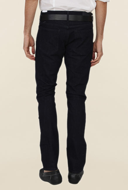 Calvin Klein Black Skinny Fit Cotton Jeans