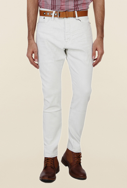 Calvin Klein White Skinny Fit Jeans