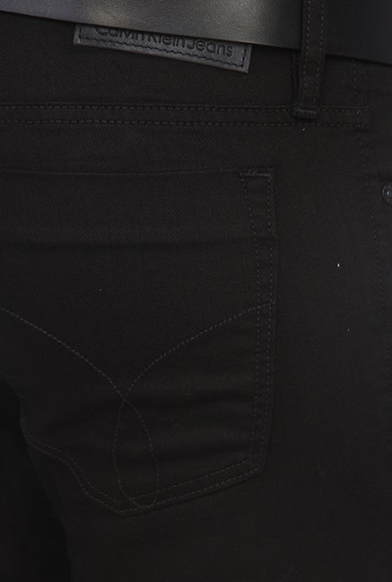 Calvin Klein Black Regular Fit Jeans