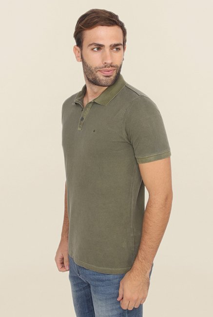 Calvin Klein Green Polo T Shirt