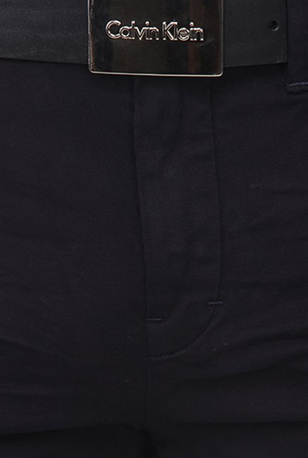 Calvin Klein Navy Slim Fit Chinos