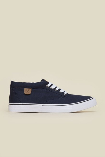 Lotto Aaron Mid Navy Sneakers