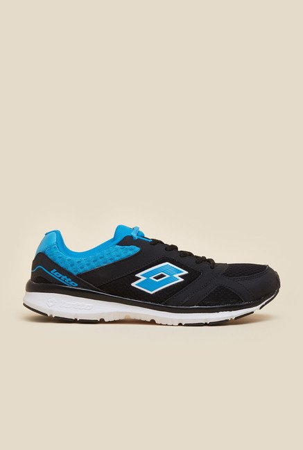 Lotto Sunrise III Black & Blue Running Shoes