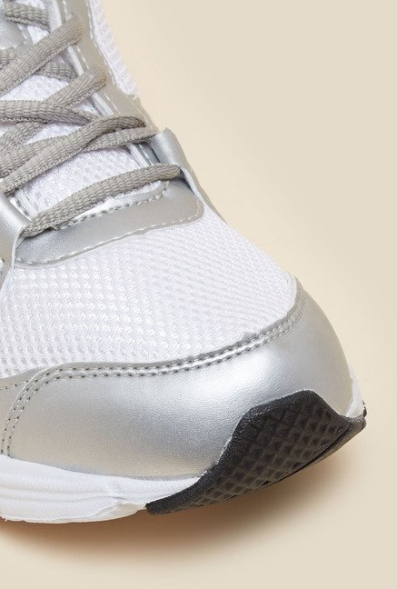 Lotto Antares VI Silver & White Running Shoes