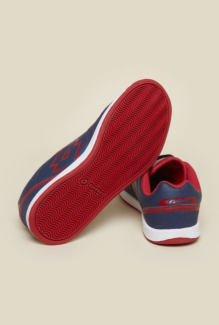Lotto Logo Plus III Navy Casual Shoes