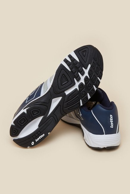 Lotto Nagoya White & Navy Running Shoes