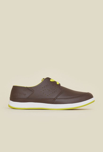 Lotto Micron Brown Casual Shoes