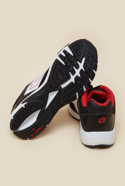 Lotto Portlane Black & White Running Shoes