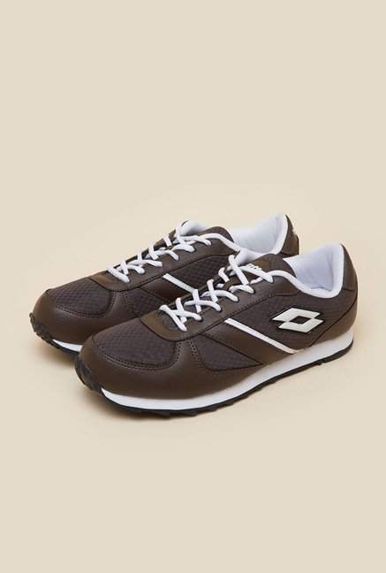 Lotto Jogger Brown & White Running Shoes