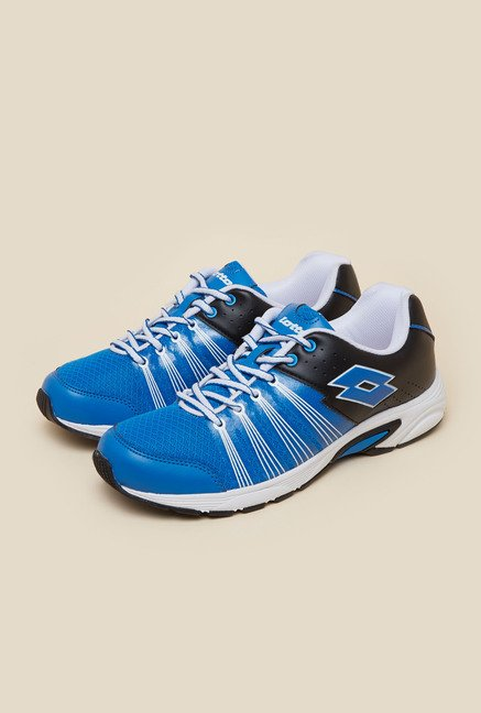 Lotto Nagoya Blue & Black Running Shoes