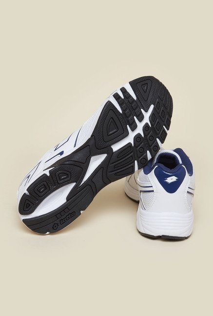 Lotto Legend Silver & White Running Shoes