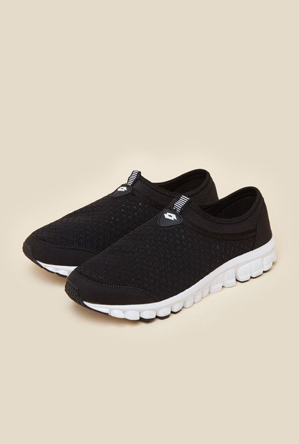 Lotto Tavern Black & White Running Shoes