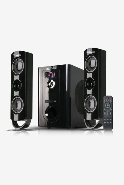 Mitashi 2.1 Ch Bluetooth HT97BT Speaker System Black