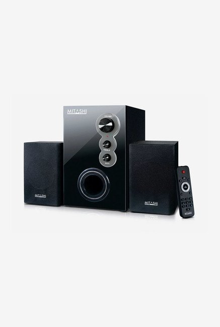 Mitashi HT 25FUR 2.1 Ch Multimedia Speaker System  (Black)
