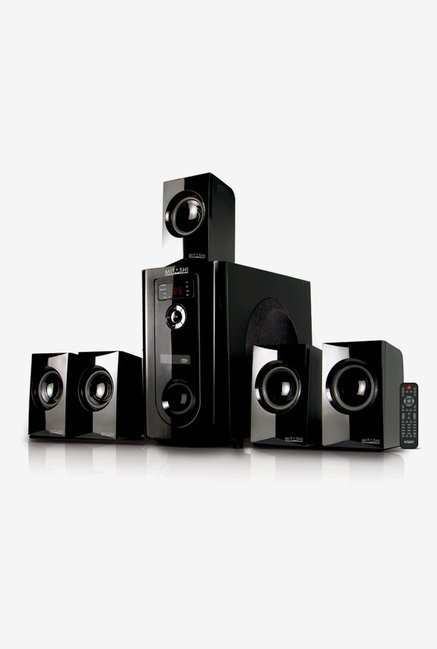 Mitashi HT-106BT 5.1Ch Bluetooth Home Theatre System (Black)