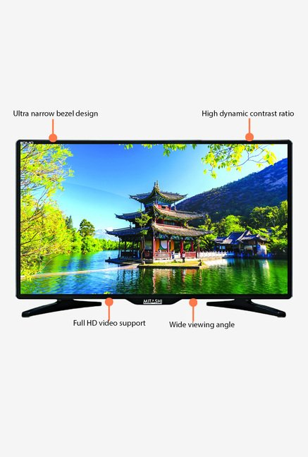 Mitashi MiE020v10 47 Cm (19 inch) HD ready LED TV (Black)