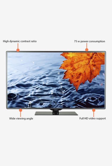 Mitashi MiDE039V10 99.06Cm (39 inch) HD Ready LED TV (Black)