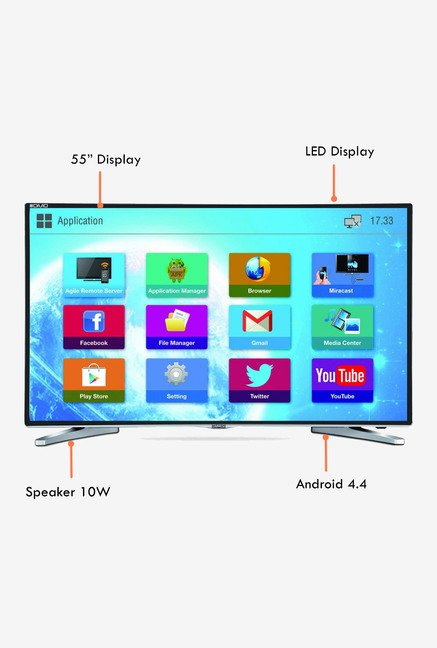 Mitashi MiDE055v02 139 Cm (55 inch) Smart Full HD LED TV