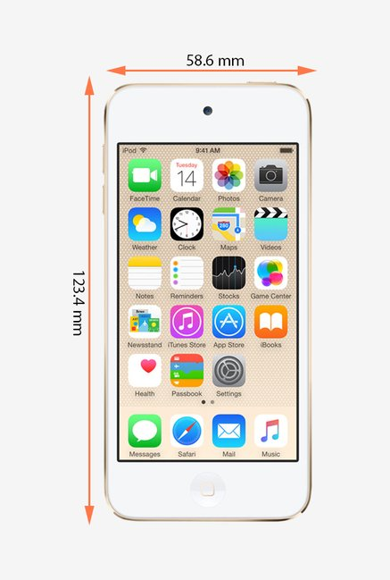 Apple MKHT2HN/A iPod Touch 32 GB Gold