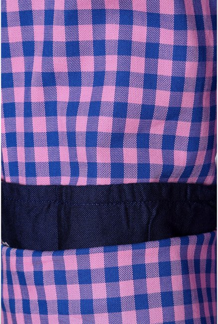Allen Solly Pink & Blue Checks Casual Shirt