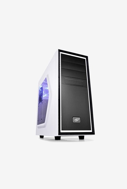 Deepcool TESSERACT WH SW Mid Tower Case White & Black