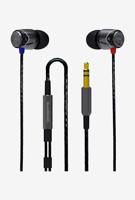 SoundMagic E 10 In-Ear Headphone Gun Black