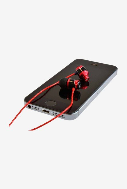 SoundMagic E 10S In-Ear Headphone Red & Black