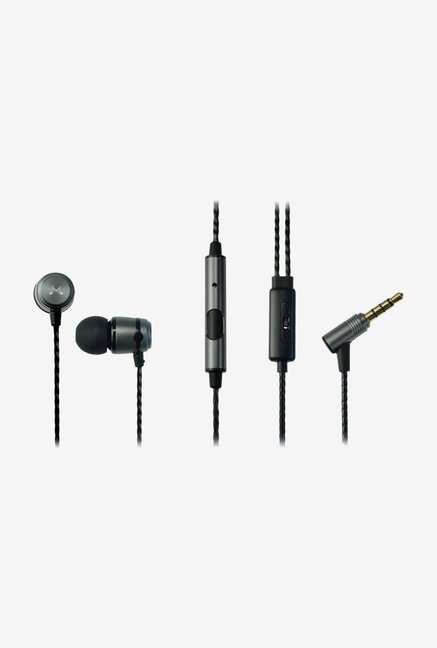 SoundMagic E50S In-Ear Headphone Gun Black