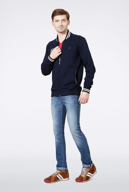Allen Solly Navy Sweatshirt