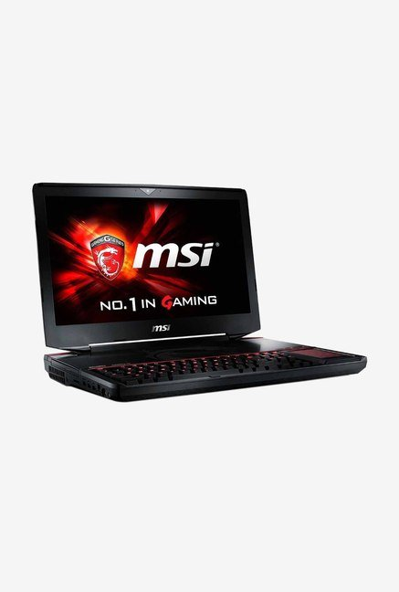 MSI Titan SLI GT80 6QE 46.74cm Laptop (Intel i7, 1TB) Black