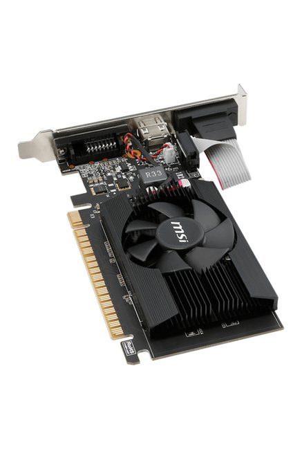 MSI N720-2GD3LP Graphics Card Black