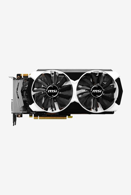 MSI GTX 960 2GD5T OC Graphics Card Black