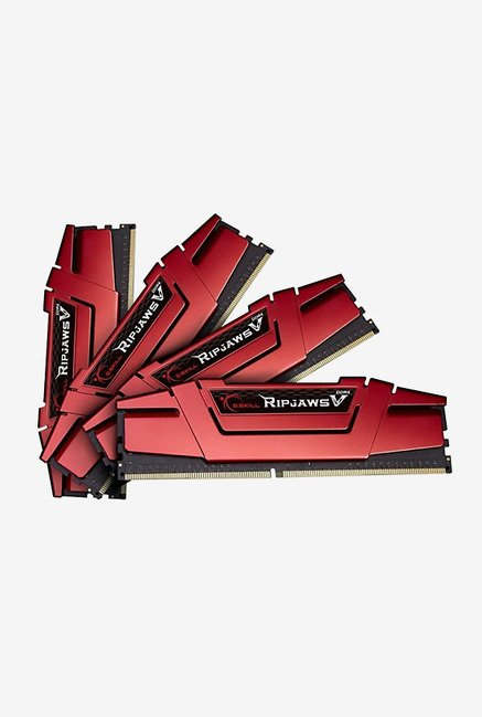 G.Skill Ripjaws V F4-2400C15Q-32GVR 32 GB RAM Red