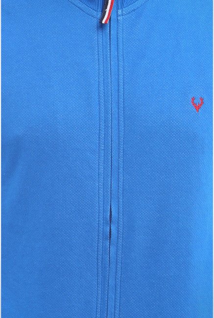 Allen Solly Blue Sweatshirt