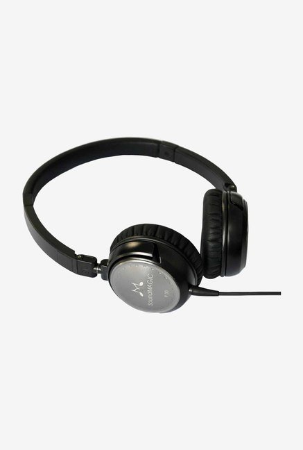 SoundMagic P30 Over the Ear Headphone Black