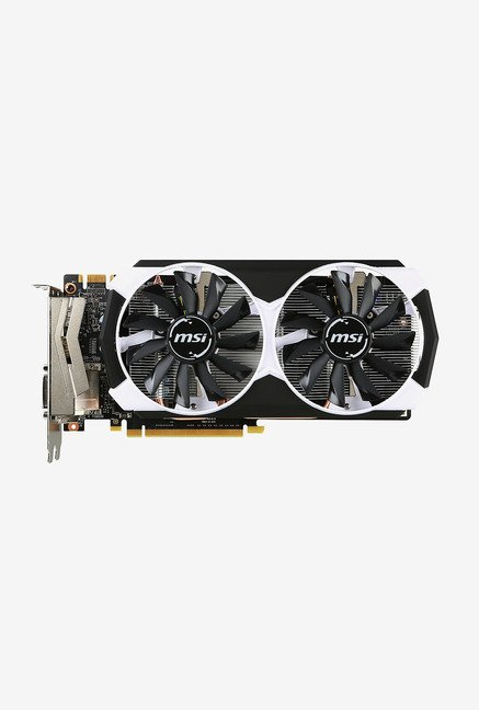 MSI GTX 960 4GD5T OC Graphics Card Black
