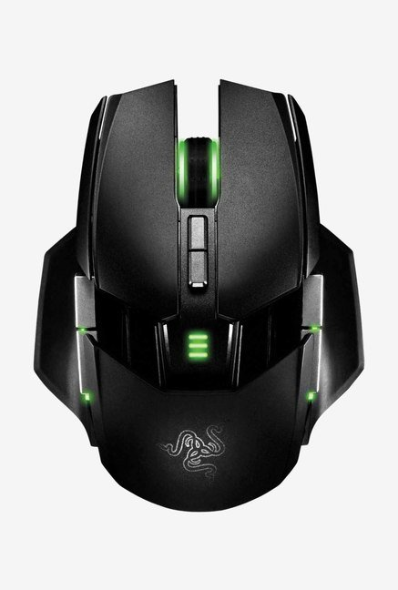 Razer Ouroboros Elite RZ01-00770100-R3A1 Mice Black & Green