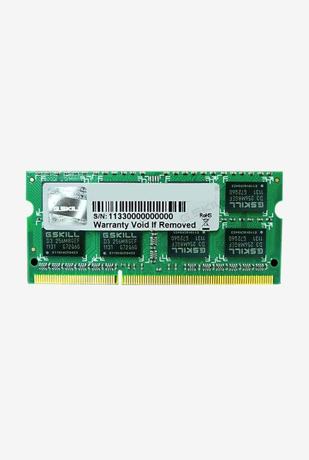 G.Skill DDR3 For Mac FA-1600C11S-4GSQ 4 GB RAM Black