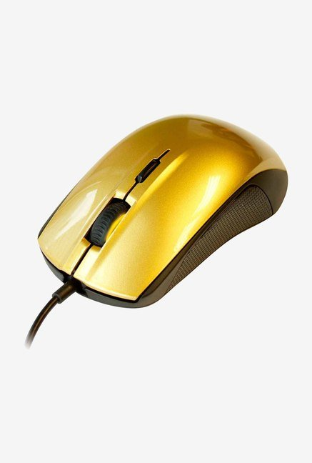 SteelSeries Rival 100 62336 Mouse Alchemy Gold