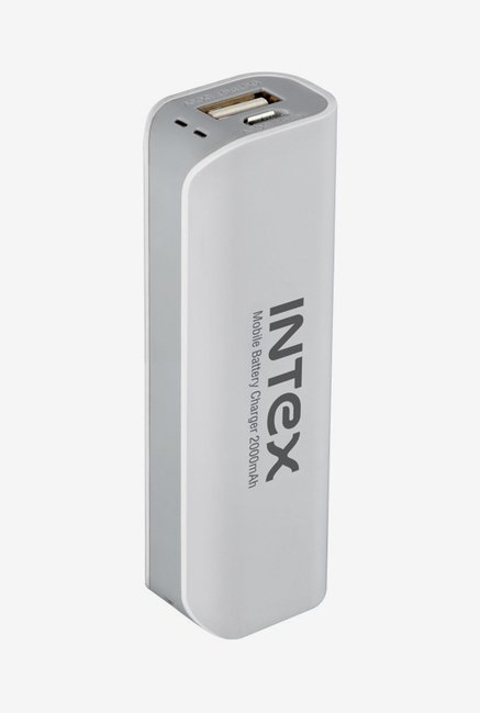 Intex IT-PB2K 2000 mAh Power Bank (White)