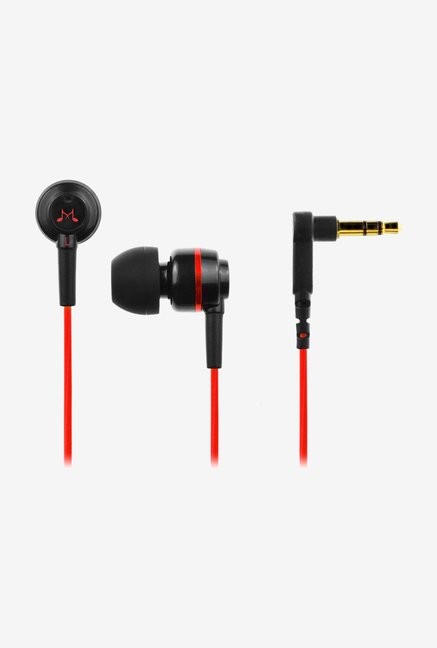 SoundMagic ES 18 In-Ear Headphone Black & Red