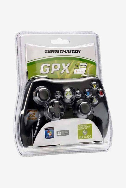 Thrustmaster GPX PC/Xbox 360 Game Pad Black